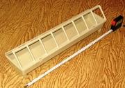 Кормушка прямоугольная для домашней птицы (комплект 4 шт.)